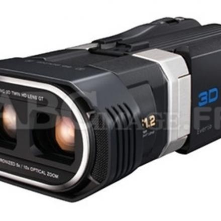 Caméscope Haute Définition Jvc GS-TD1BEU NOIR