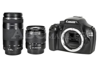 Reflex Canon 1100D 18-55+75-300DC