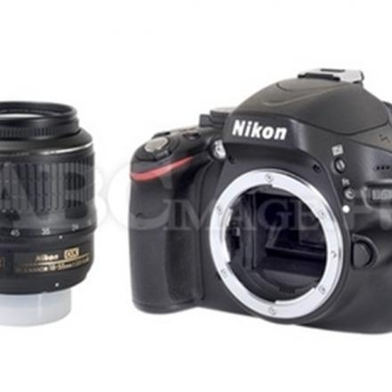 Reflex Nikon D5100 + Objectif Nikon AF-S DX VR 18-55mm 3.5-5.6 G