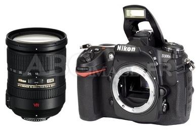 Reflex Nikon D300S + 18-200 VRII